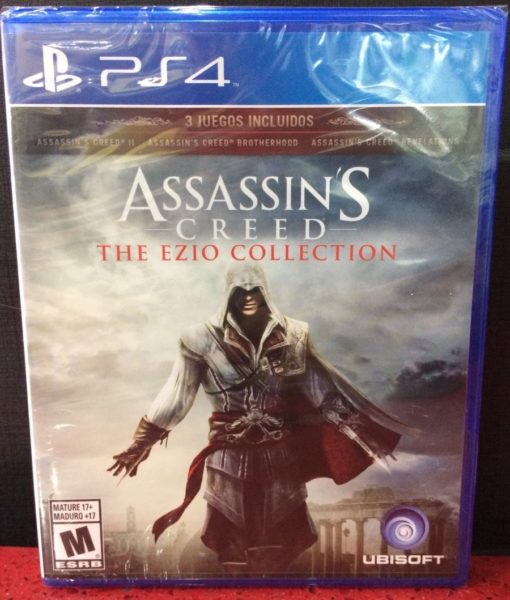 PS4 Assassins Creed The Ezio Collection game