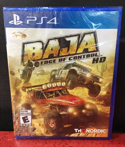 PS4 Baja Edge of Control HD game