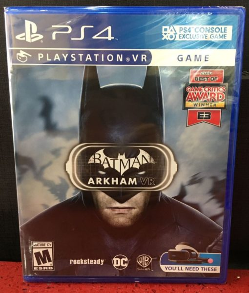 PS4 Batman Arkham VR game