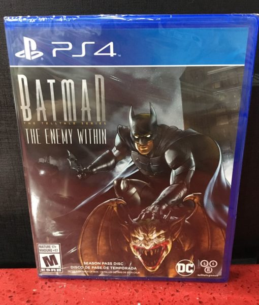 PS4 Batman Telltale Enemy Within game