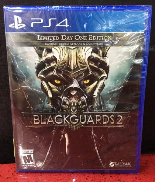 PS4 Blackguards 2 game