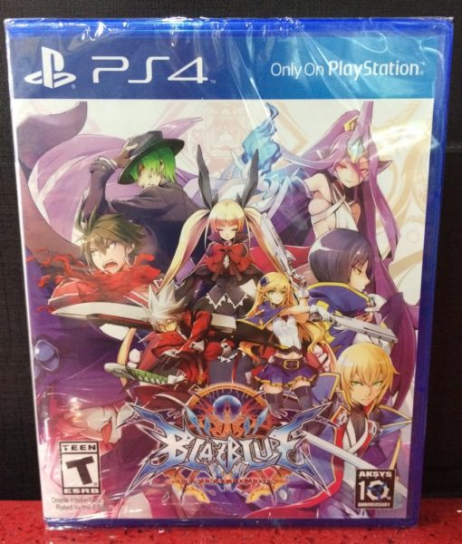 PS4 Blazblue Central Fiction game