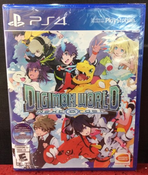 PS4 Digimon World Next Order game
