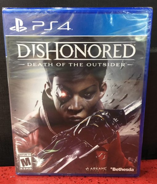PS4 Dishonored Death of The Ousider game