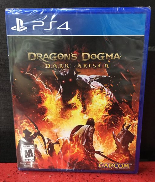 PS4 Dragons Dogma Dark Arisen game