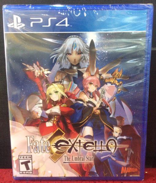 PS4 Fate Extella Umbral Star game