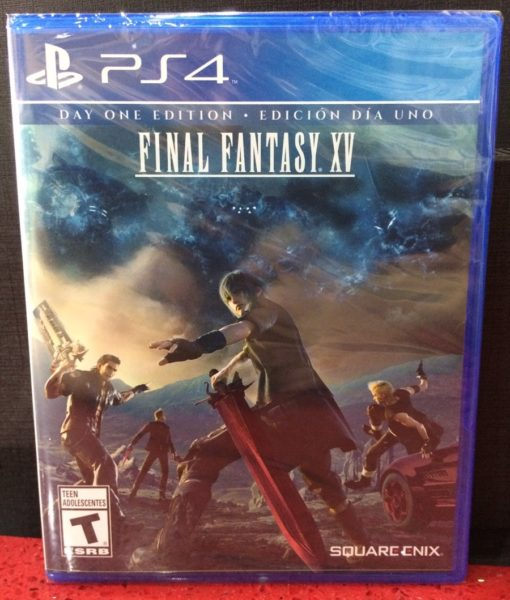 PS4 Final Fantasy XV game
