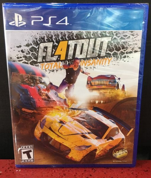 PS4 Flatout Total Insanity game