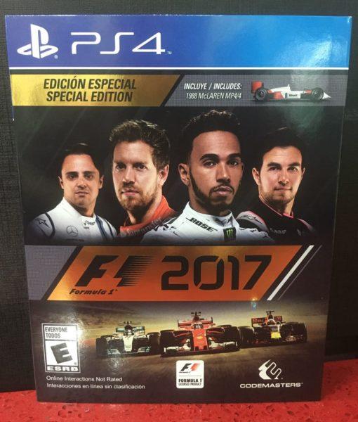 PS4 Formula 1 2017 game