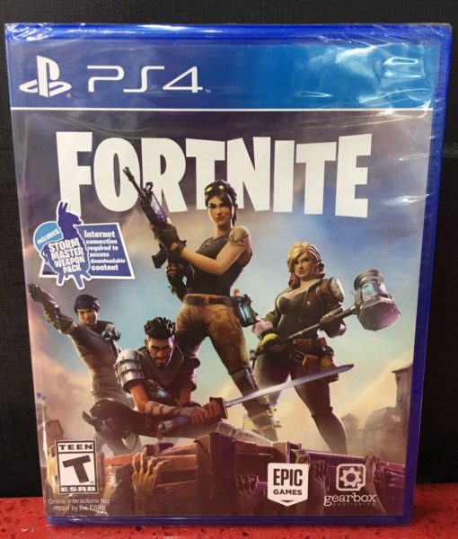 PS4 Fornite game