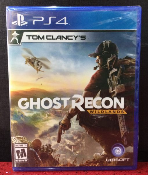 PS4 Ghost Recon WildLands game
