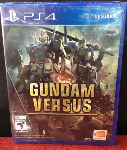PS4 Gundam Versus game