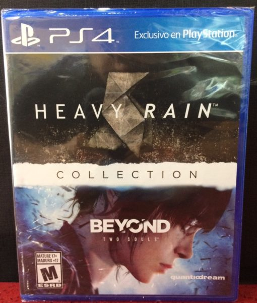 PS4 Heavy Rain Beyond Two Souls Collection game