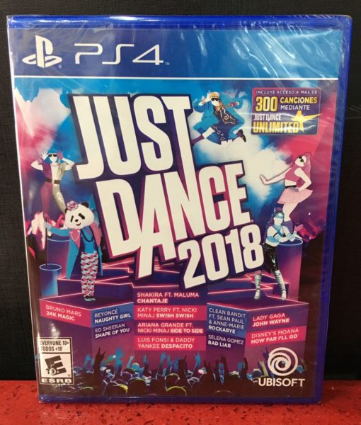 PS4 Just Dance 2018 game