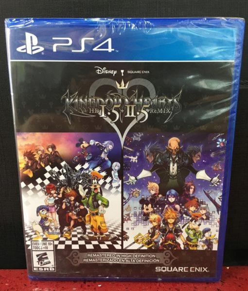 PS4 Kingdom Hearts HD I.5 + II.5 Remix game
