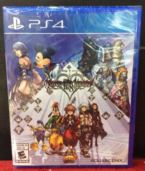 PS4 Kingdom Hearts HD II.8 game