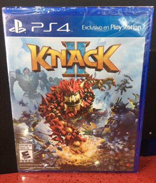 PS4 Knack II game