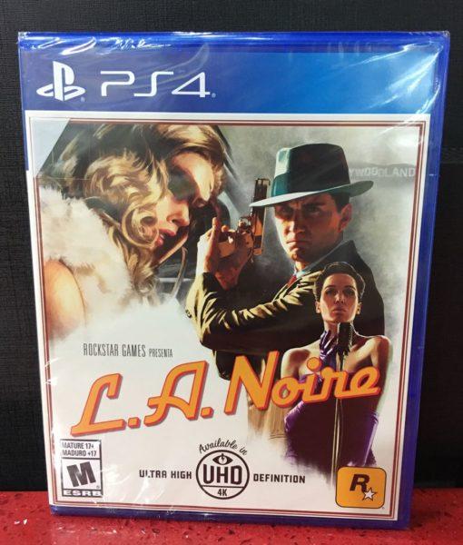 PS4 LA Noire game
