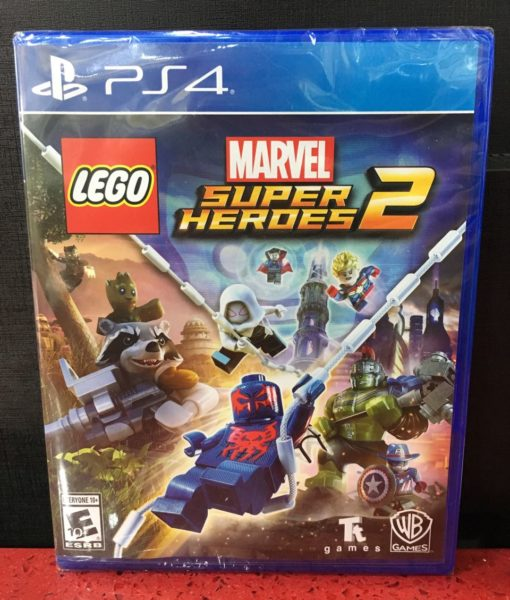 PS4 LEGO Marvel Super Heroes 2 game