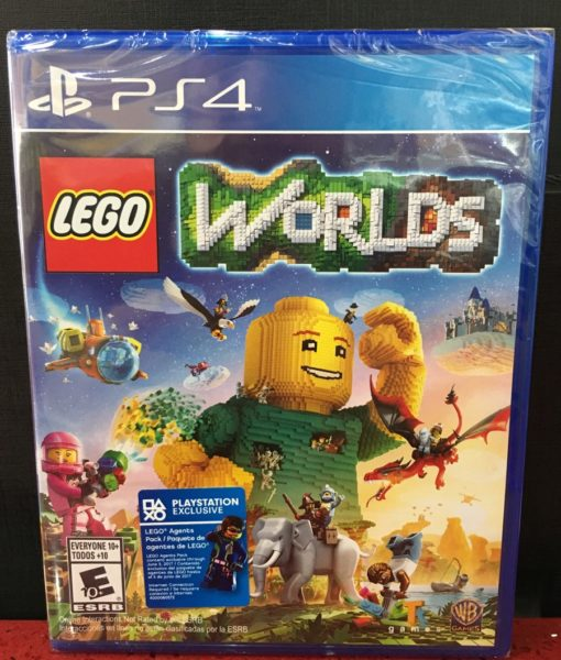 PS4 Lego Worlds game