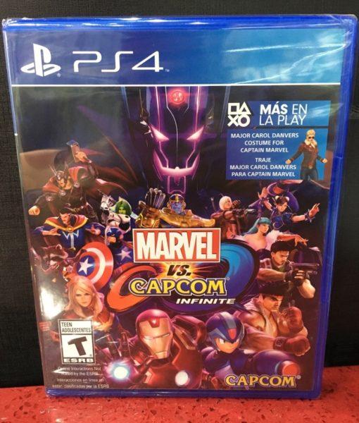 PS4 Marvel vs Capcom Infinite game