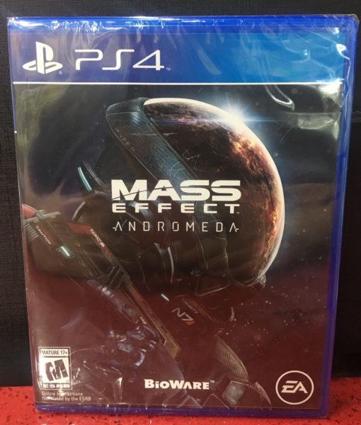 PS4 Mass Effect Andromeda game