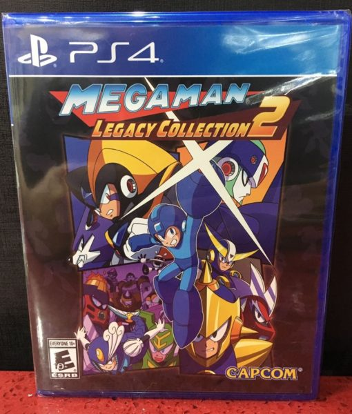 PS4 Megaman Legacy Collection 2 game