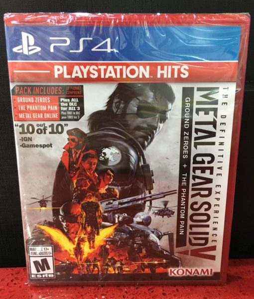 PS4 Metal Gear Solid V Definitive Experience game _2