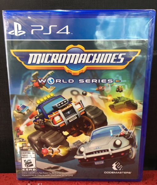 PS4 Micromachines World Series game