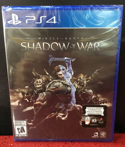 PS4 Middle Earth Shadow of War game