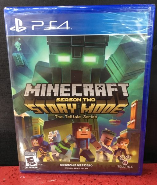 PS4 Minecraft Story Mode Season Two game