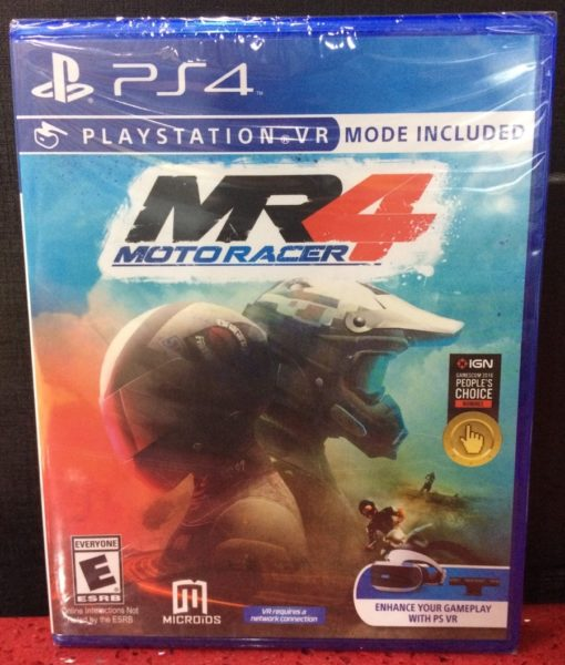 PS4 Moto Racer 4 game