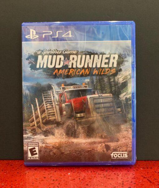 PS4 Mud Runner game
