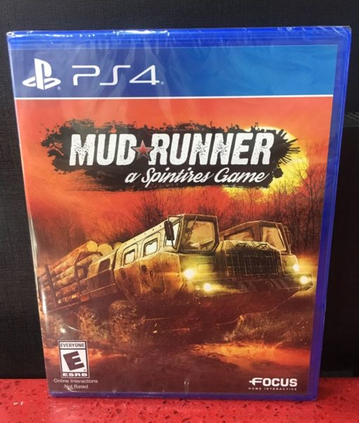 PS4 Mud Runner game