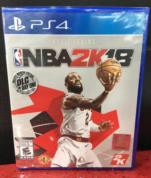 PS4 NBA 2K18 game