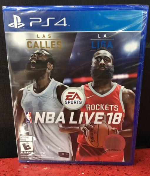 PS4 NBA Live 18 game