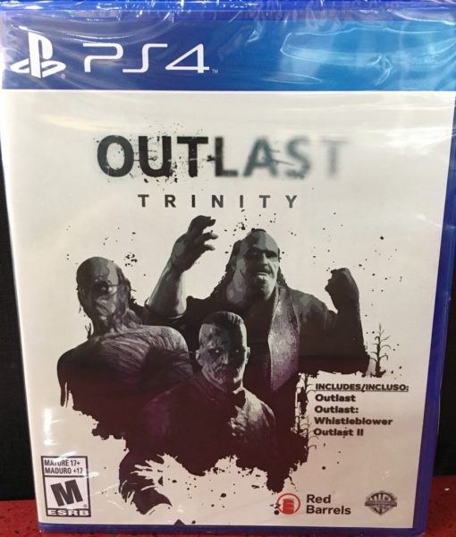 PS4 Outlast Trinity game