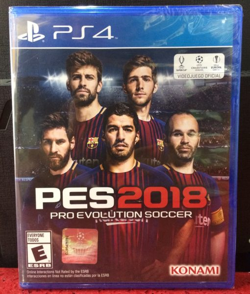 PS4 PES 2018 game