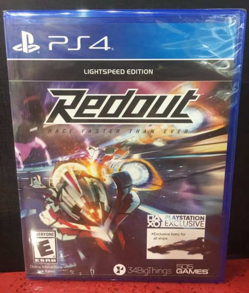 PS4 Redout game