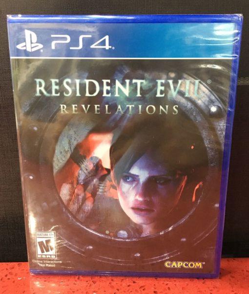 PS4 Resident Evil Revelations game
