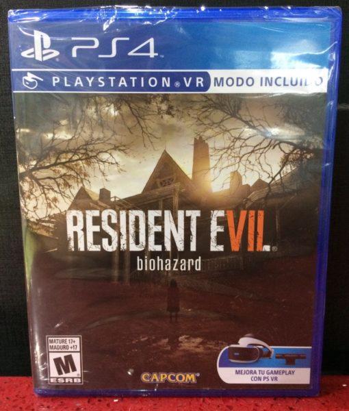 PS4 Resident Evil VIII Biohazard game