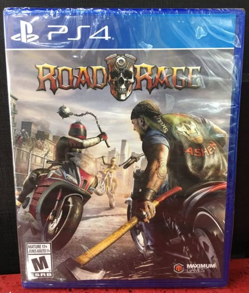 PS4 Road Rage game