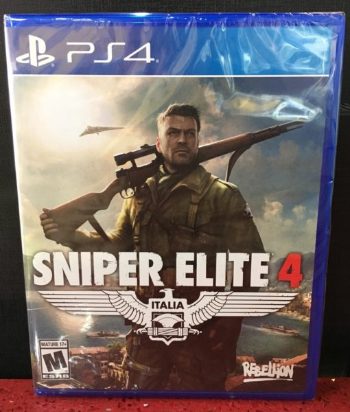 PS4 Sniper Elite 4 game