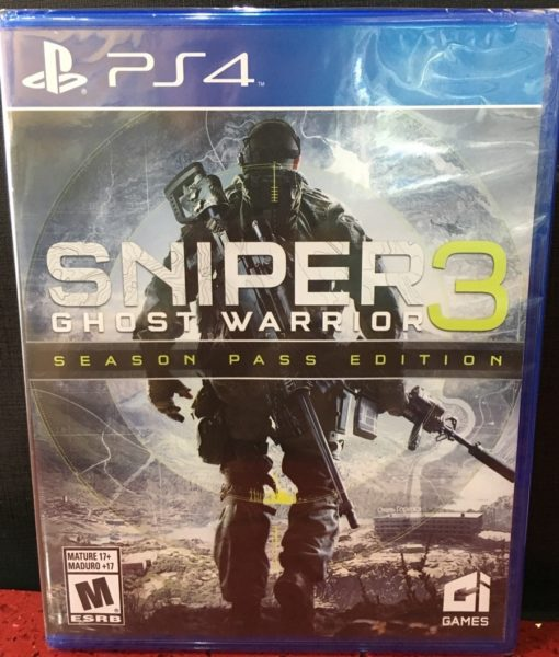 PS4 Sniper Ghost Warrior 3 game