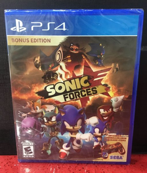 PS4 Sonic Forces game