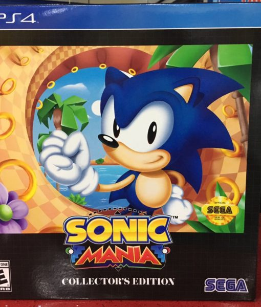 PS4 Sonic Mania Collectors Edition game