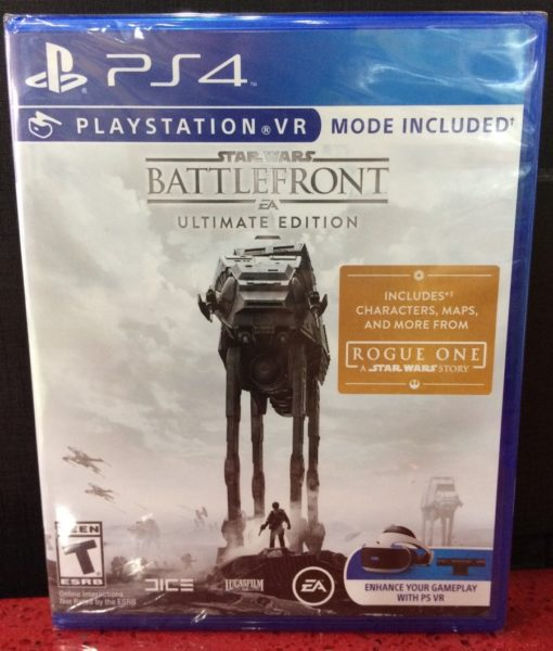 PS4 Star Wars Battlefront ULTIMATE EDITION game