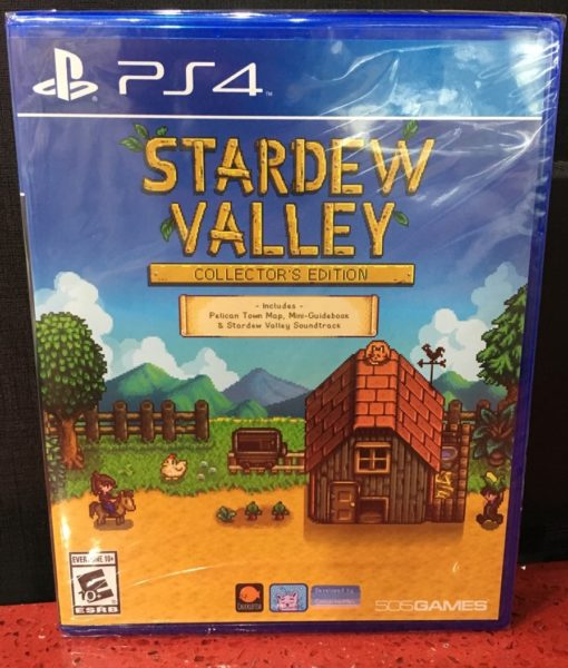 PS4 Stardew Valley game