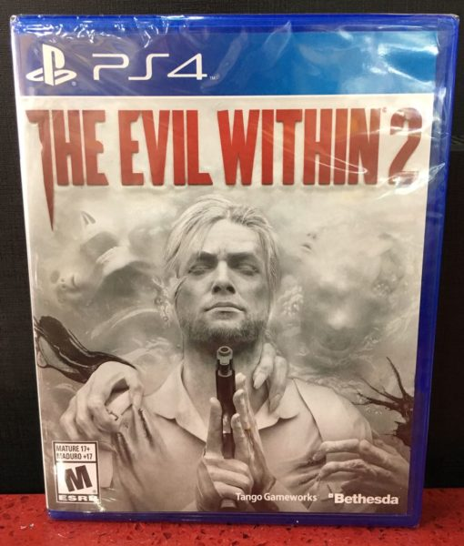 PS4 The Evil Within 2 game