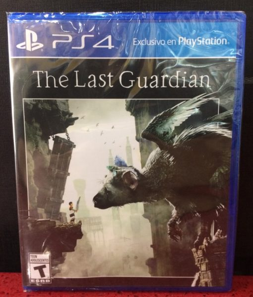 PS4 The Last Guardian game
